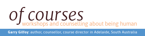 Garry's 'of courses' newsletter subscription header image